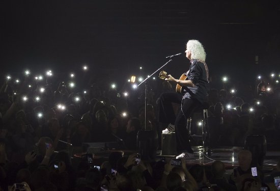 National Exhibition Centre: Brian May