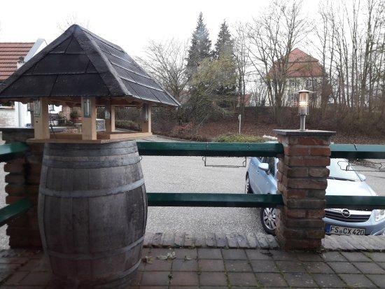 Attenkirchen, Alemania: Vista desde parte del comedor
