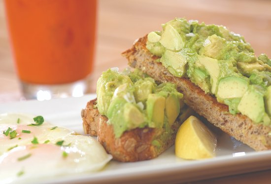 The Egg & I Restaurant: California Avocado Toast