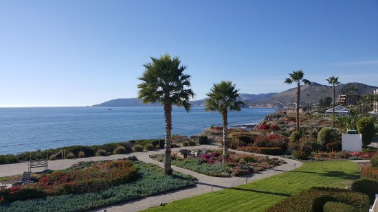 Spyglass Inn: This is the view from the balcony of our 2nd floor room. Stunning!