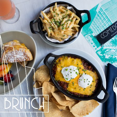 Our brunch menu is to die for! - Picture of Comedor, San ...