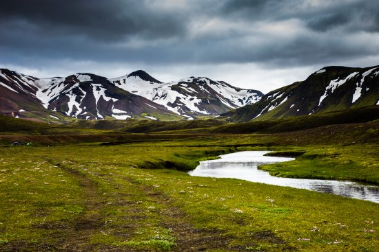 Landmannalaugar, Iceland: Camino