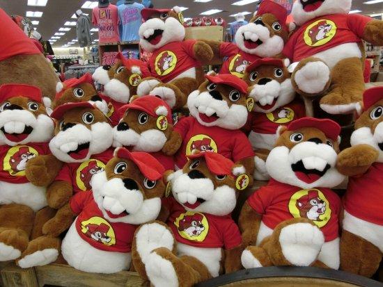 Madisonville, TX: 店内には、可愛いキャラクターグッズがいっぱいです。