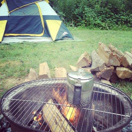 Elizabethtown, PA: Hershey KOA Tent Camping