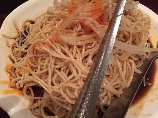 Acton, MA: Cold noodles
