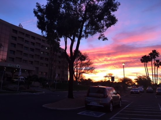 Hilton Tucson East: Beautiful sunsets