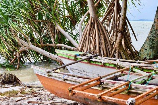 Fanning Island, Republika Kiribati: Fishing boat