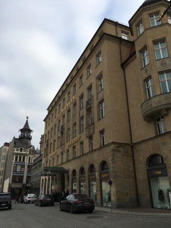Steigenberger Grandhotel Handelshof: Außenansicht