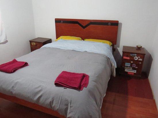 Santa Teresa, Perú: habitación matrimonial con desayuno americano incluido y servicios de baño compartido