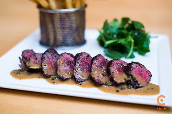 Central Michel Richard: Steak Au Poivre