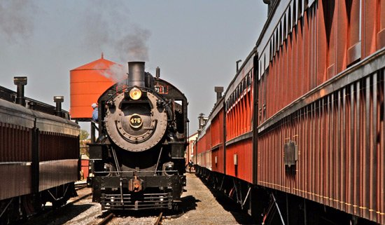 Ronks, PA: Strasburg Rail Road exists as a premier example of steam railroading, nestled in Lancaster Count