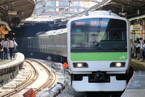 Kanto, Japan: 東京都心を1時間で1周する山手線