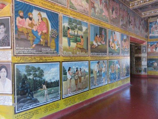 Weherahena Buddhist Temple : A maze of underground galleries full of paintings