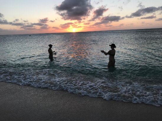 Sunset from Cayman Reef Resort