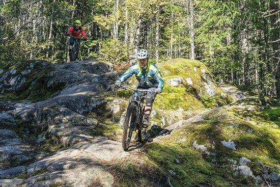 Garibaldi Highlands, كندا: Squamish Guided Mountain Bike Tours