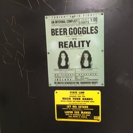 Bellflower, CA: Beers Goggles on