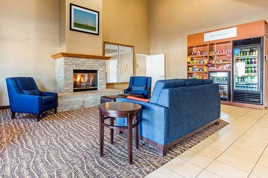 Comfort Suites Bloomington Normal: Lobby
