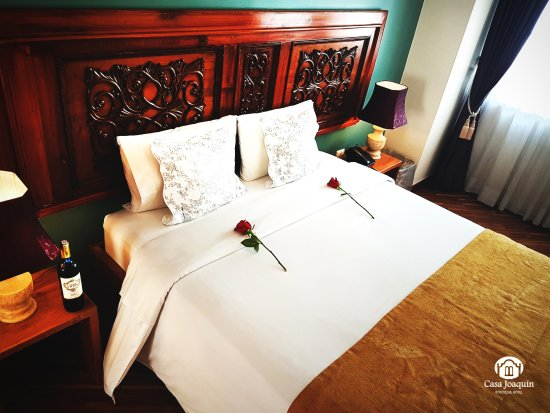 Casa Joaquin Boutique Hotel: A very nice suite for a romantic stay.