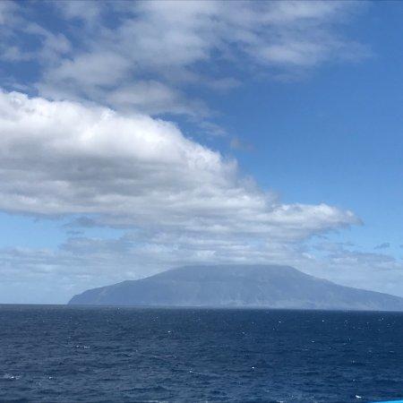 Tristan da Cunha: Trsitan Da Cunha- View from Ship 🚢