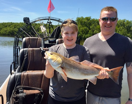 Fishing charters picture of gulf coast airboat charters for Florida gulf coast fishing charters