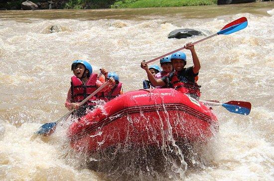 Por do sol de Borobudur Rafting
