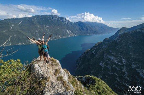 Via Ferrata Cima Capi from Lake Garda