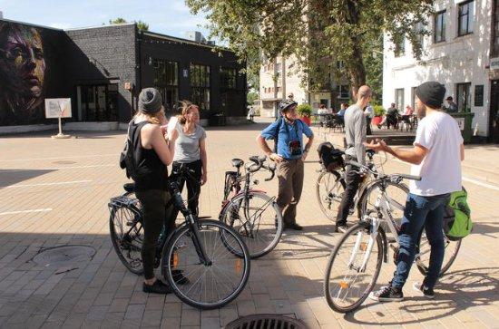 L'autre côté du tour à vélo de Tallinn
