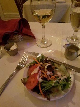 King Street Cafe: Great side salad