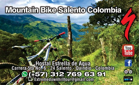 mountain bike salento colombia 3127696391  valle de cocora    Deportes extremos colombia¡¡