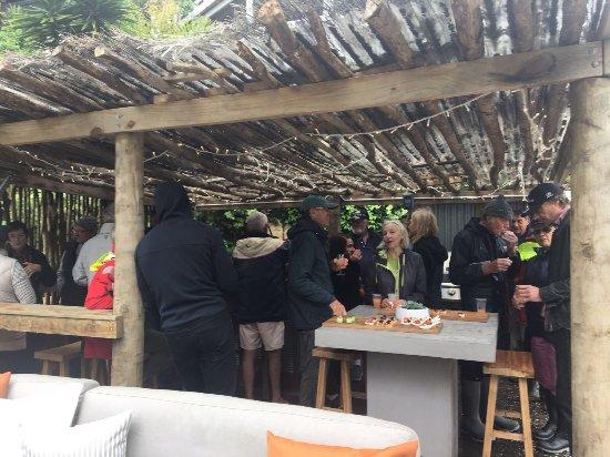 Kawau Island, New Zealand: Cabana bar event