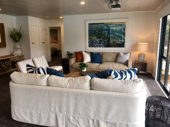 Kawau Island, Nueva Zelanda: Lounge and movie room