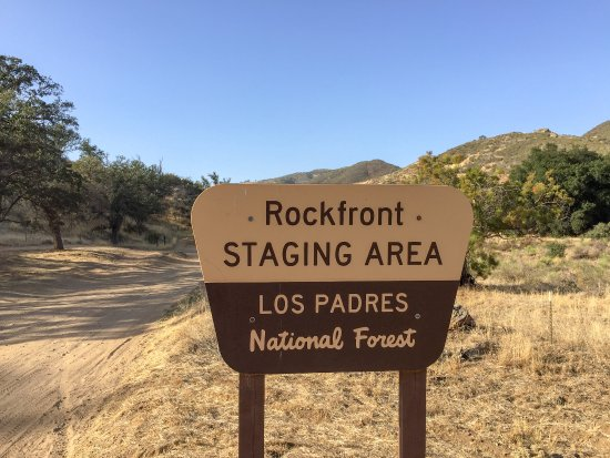Goleta, CA: Rock Front OHV trails staging area