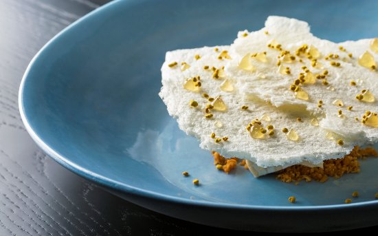 Wildflower: Honey Dessert - features honey from the restaurants very own rooftop beehives