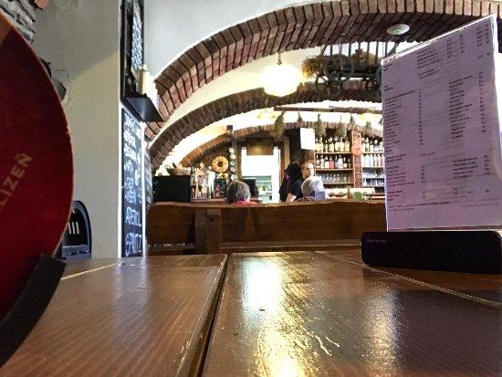 Bozi Dar, Czech Republic: View from table