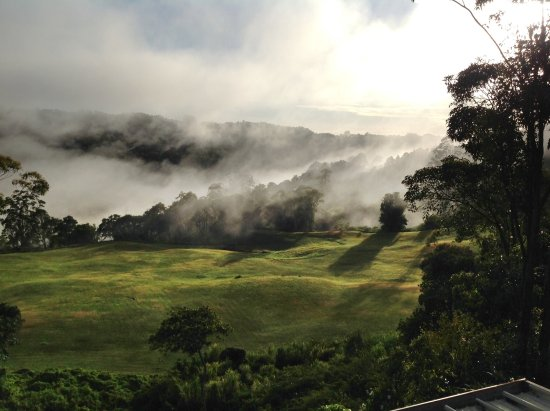 Sunshine Coast, Australia: Misty mountains wonder in the winter