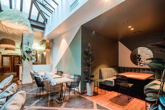 Restaurant billede af les bains du marais paris for S bains restaurant