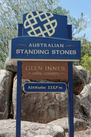 Australian Standing Stones: Entrance Signage