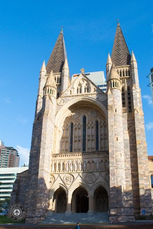 St. John's Anglican Cathedral: Fachada