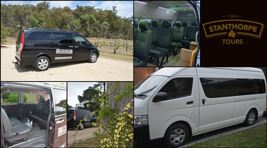 The new vehicles we purchased to take all the wonderful groups touring around the Stanthorpe Reg