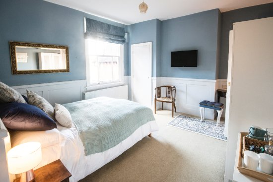 blue room above cafe picture of leverton and halls cafe bed and rh tripadvisor com