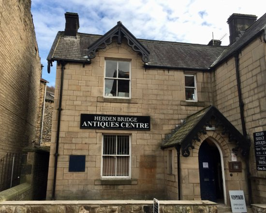 The new home of Hebden Bridge Antiques Centre