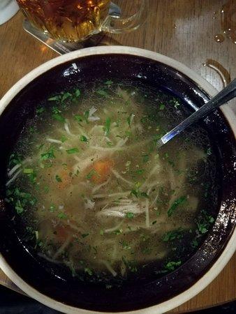 Kolkovna Olympia : Zuppa di pollo e verdure