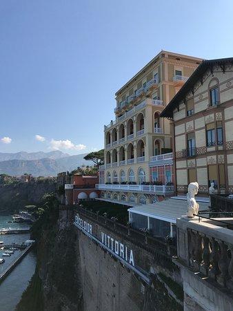 Terrazza Bosquet Picture Of Grand Hotel Excelsior Vittoria