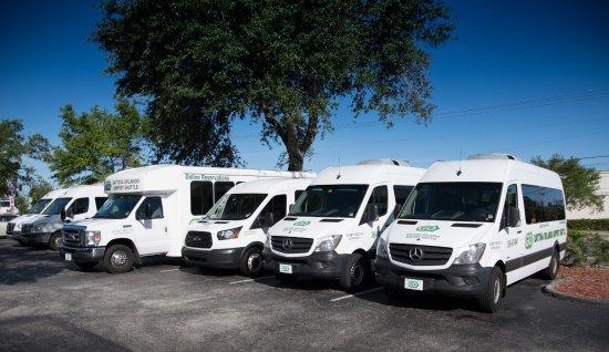 Go Daytona Orlando Airport Shuttle Fleet