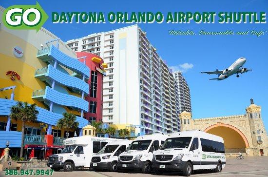 Go Daytona Orlando Airport Shuttle At The Bandshell