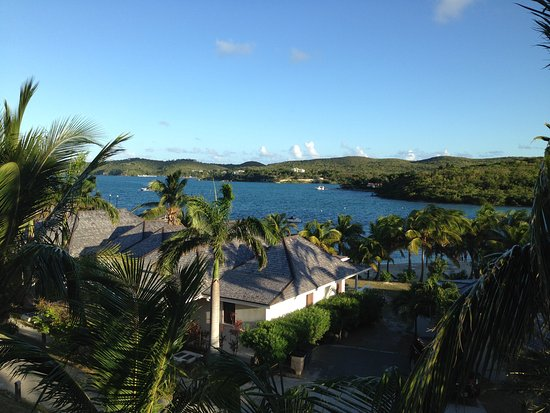 Freetown, Antigua: View from Suite 312