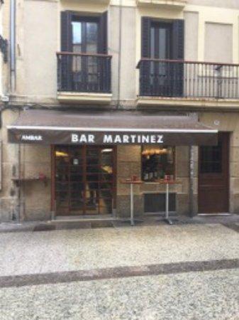 Restaurante bar martinez en san sebasti n con cocina tapas - Cocinas san sebastian ...