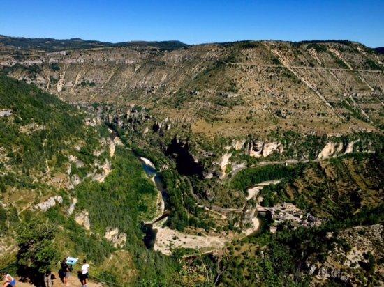 Le Saltadou- Panorama de St Chely du Tarn