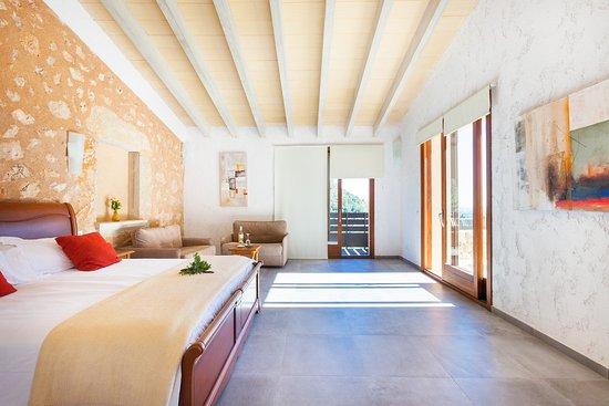 Binibona, España: Doble Superior con terraza