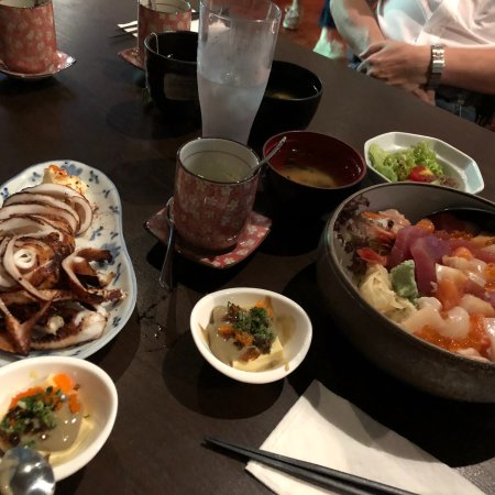 Kushi Japanese Dining Bar: Meal at Kushi today